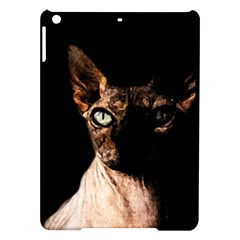 Sphynx Cat Ipad Air Hardshell Cases by Valentinaart
