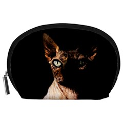 Sphynx Cat Accessory Pouches (large)  by Valentinaart