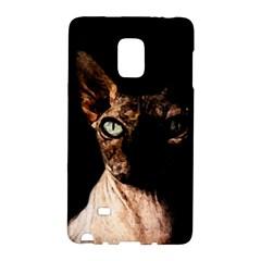 Sphynx Cat Galaxy Note Edge by Valentinaart
