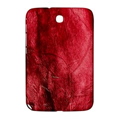 Red Background Texture Samsung Galaxy Note 8 0 N5100 Hardshell Case  by Simbadda