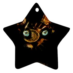 Sphynx Cat Ornament (star) by Valentinaart