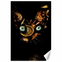 Sphynx Cat Canvas 20  X 30   by Valentinaart