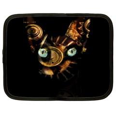 Sphynx Cat Netbook Case (xxl)  by Valentinaart