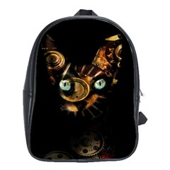 Sphynx Cat School Bags(large)  by Valentinaart