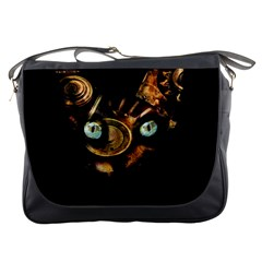 Sphynx Cat Messenger Bags by Valentinaart