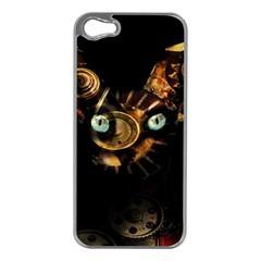 Sphynx Cat Apple Iphone 5 Case (silver) by Valentinaart