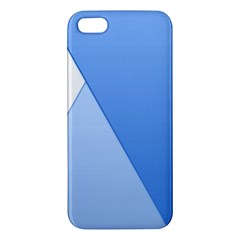 Stripes Lines Texture Apple Iphone 5 Premium Hardshell Case by Simbadda