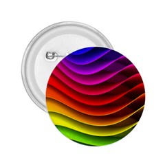 Spectrum Rainbow Background Surface Stripes Texture Waves 2 25  Buttons by Simbadda