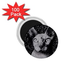 Sphynx Cat 1 75  Magnets (100 Pack)  by Valentinaart