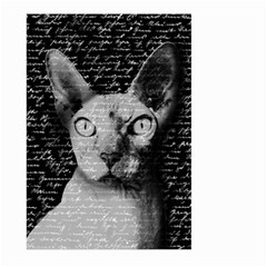 Sphynx Cat Large Garden Flag (two Sides) by Valentinaart