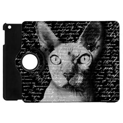 Sphynx Cat Apple Ipad Mini Flip 360 Case by Valentinaart