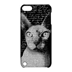 Sphynx Cat Apple Ipod Touch 5 Hardshell Case With Stand by Valentinaart