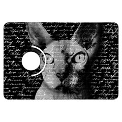 Sphynx Cat Kindle Fire Hdx Flip 360 Case by Valentinaart