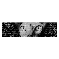 Sphynx Cat Satin Scarf (oblong) by Valentinaart