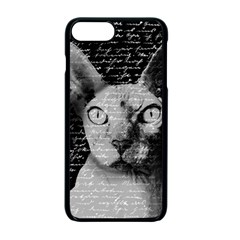 Sphynx Cat Apple Iphone 7 Plus Seamless Case (black) by Valentinaart