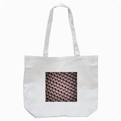 Suit Spades Hearts Clubs Diamonds Background Texture Tote Bag (white) by Simbadda