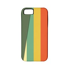 Texture Stripes Lines Color Bright Apple Iphone 5 Classic Hardshell Case (pc+silicone) by Simbadda
