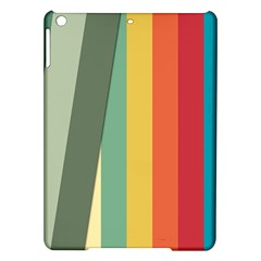 Texture Stripes Lines Color Bright Ipad Air Hardshell Cases by Simbadda