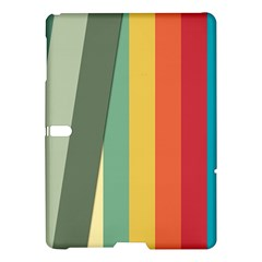 Texture Stripes Lines Color Bright Samsung Galaxy Tab S (10 5 ) Hardshell Case  by Simbadda
