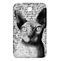 Sphynx Cat Samsung Galaxy Tab 3 (7 ) P3200 Hardshell Case  by Valentinaart