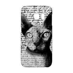 Sphynx Cat Galaxy S6 Edge by Valentinaart