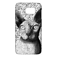 Sphynx Cat Galaxy S6 by Valentinaart