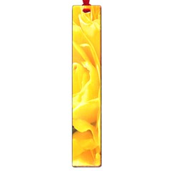 Yellow Neon Flowers Large Book Marks by Simbadda