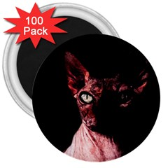 Sphynx Cat 3  Magnets (100 Pack) by Valentinaart