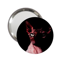 Sphynx Cat 2 25  Handbag Mirrors by Valentinaart