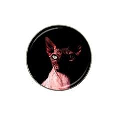 Sphynx Cat Hat Clip Ball Marker by Valentinaart