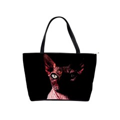Sphynx Cat Shoulder Handbags by Valentinaart