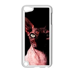 Sphynx Cat Apple Ipod Touch 5 Case (white) by Valentinaart