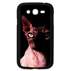 Sphynx Cat Samsung Galaxy Grand Duos I9082 Case (black) by Valentinaart