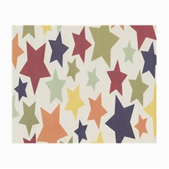 Star Colorful Surface Small Glasses Cloth (2 Side) by Simbadda