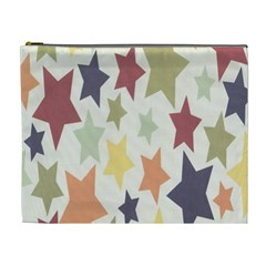 Star Colorful Surface Cosmetic Bag (xl) by Simbadda