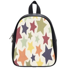 Star Colorful Surface School Bags (small)  by Simbadda