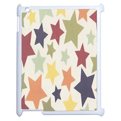 Star Colorful Surface Apple Ipad 2 Case (white) by Simbadda