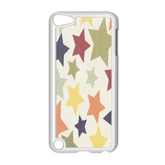 Star Colorful Surface Apple Ipod Touch 5 Case (white) by Simbadda