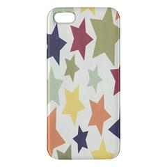 Star Colorful Surface Iphone 5s/ Se Premium Hardshell Case by Simbadda