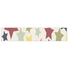 Star Colorful Surface Flano Scarf (small) by Simbadda