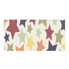 Star Colorful Surface Satin Wrap by Simbadda