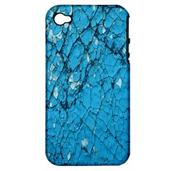 Surface Grunge Scratches Old Apple Iphone 4/4s Hardshell Case (pc+silicone) by Simbadda