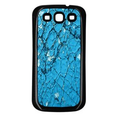 Surface Grunge Scratches Old Samsung Galaxy S3 Back Case (black)