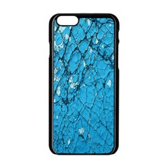 Surface Grunge Scratches Old Apple Iphone 6/6s Black Enamel Case by Simbadda