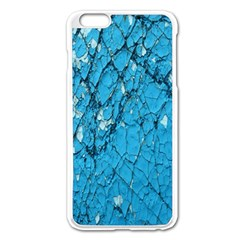 Surface Grunge Scratches Old Apple Iphone 6 Plus/6s Plus Enamel White Case by Simbadda