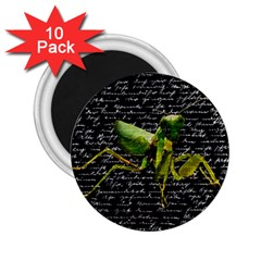 Mantis 2 25  Magnets (10 Pack)  by Valentinaart