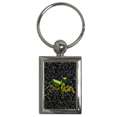 Mantis Key Chains (rectangle)  by Valentinaart