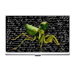 Mantis Business Card Holders by Valentinaart