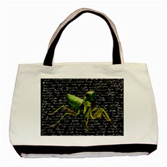 Mantis Basic Tote Bag (two Sides) by Valentinaart