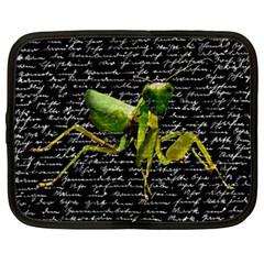 Mantis Netbook Case (large) by Valentinaart
